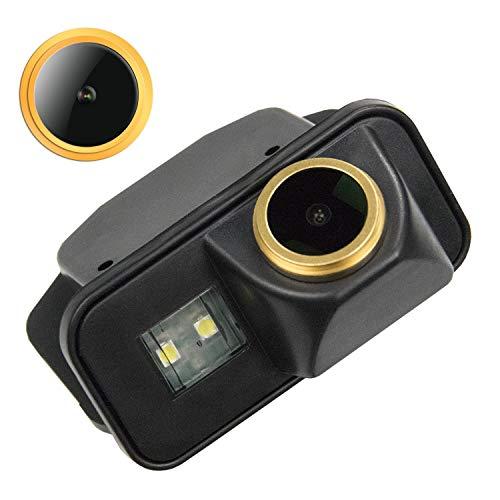 HD Goldene Rückfahrkamera 1280 * 720 Pixel 1000TV Linien Kamera für Toyota Vios Corolla Auris Avensis T25 T27,Wasserdicht Nachtsicht Einparkhilfe Rueckfahrkamera