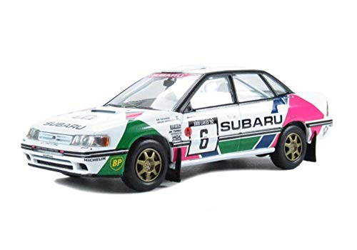 Corgi (Vanguard 1/43 Ème) - CVA11802 - Véhicule Miniature et Circuit - Subaru Legacy 2000CC Turbo 1992 1000 Lakes Rally