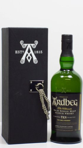 Photo of Ardbeg – The Ultimate in Leatherette Box – 2000 10 year old Whisky