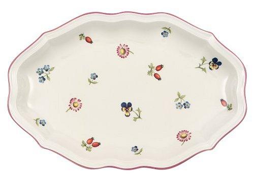 Villeroy & Boch Petite Fleur Beilagenschale, Premium Porzellan, 24cm