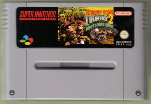 SNES Spiel: Donkey Kong Country 2 II Diddy's Kong Quest NUR DAS EINZELNE SPIEL-MODUL (für SNES Super Nintendo, PAL, deutsch)
