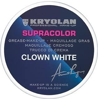 Kryolan 1082 Supracolor 2.5oz/80g (CLOWN WHITE)