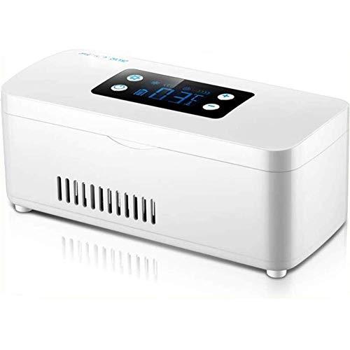 FEE-ZC Smart Charging Koelkast, Rustige Desktop Mini Bar Insulin Cooler Draagbare Auto Koeler Geneeskunde Herinnering Mini Koelkast Auto Medische Thermostaat
