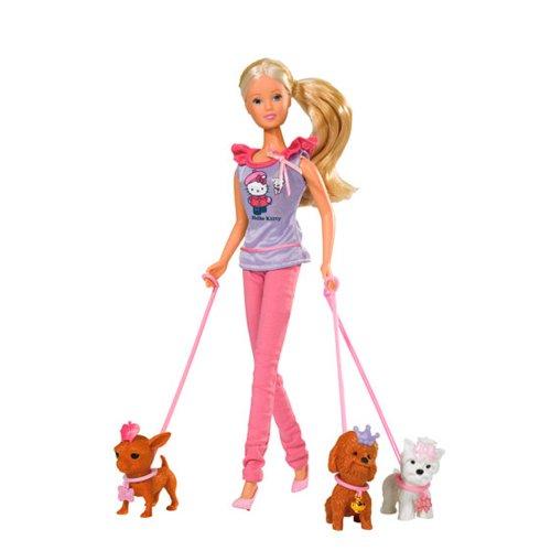 Simba - 105732786 - Poupée - Hello Kitty - Steffi Love - Posh Puppy