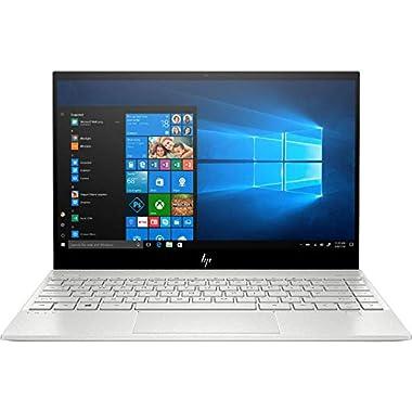 2020 HP Envy 13.3″ 4K Ultra HD Touch-Screen Laptop 10th Gen Intel i7-1065G7 8GB DDR4 Memory 512GB SSD WiFi 6 Bluetooth 5.0 Weigh 2.6 lbs. Natural Silver
