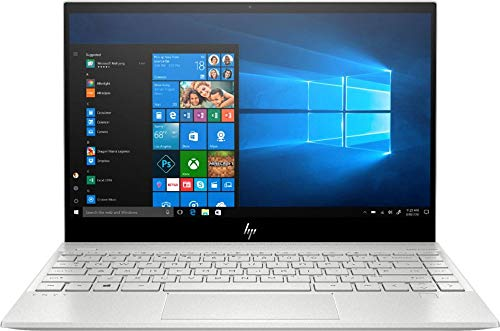 "2020 HP Envy 13.3"" 4K Ultra HD Touch-Screen Laptop 10th Gen Intel i7-1065G7 8GB DDR4 Memory 512GB SSD WiFi 6 Bluetooth 5.0 Weigh 2.6 lbs. Natural Silver"
