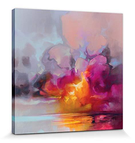 1art1 Scott Naismith - Cumulus Cluster Bilder Leinwand-Bild Auf Keilrahmen   XXL-Wandbild Poster Kunstdruck Als Leinwandbild 40 x 40 cm