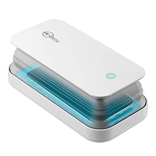 cellularline UVCSTERILIZERW Hi-Gens, LED-Sterilisator zur Sterilisation des Smartphones, mit Ultraviolettlicht-Emission (UV-C), sterilisiert 99,9 % der Bakterien.