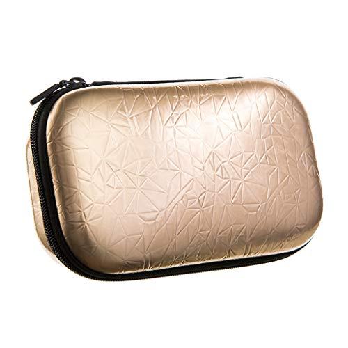 ZIPIT ZIPIT Metallic Federmäppchen / Etui / Stifteetui, Gold Federmäppchen, 21 cm, Gold