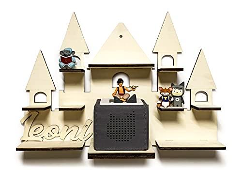 DIY Regal Schloss für die Musikbox passend für Toniebox Kinder Baby Zimmer zum selbst bemalen mit...