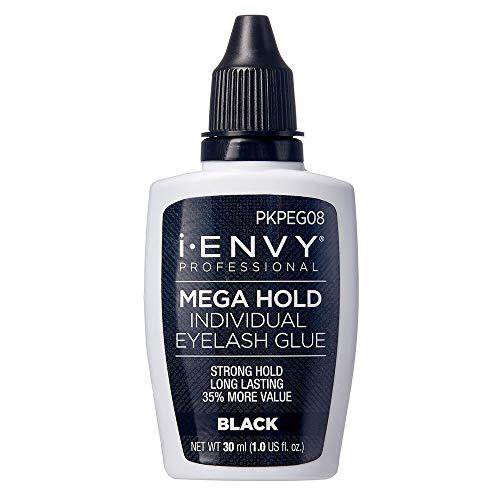 Kiss i Envy Professional Mega Hold Individual Lash Adhesive Black