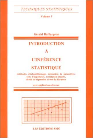 INTRODUCTION A L'INFERENCE STATISTIQUE