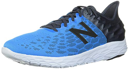 New Balance Men's Fresh Foam Beacon V2 Running Shoe, Vision Blue/Thunder, 14 W US