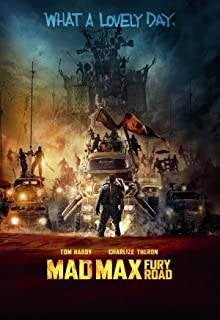 Mad Max: Fury Road Movie Poster 12 x 18