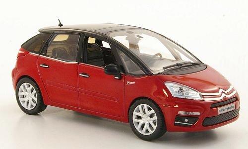 Bester der welt Citroen C4 Picassomet-Rot / Schwarz 2000 Automodell Abgeschlossenes Modell Norev 1:43