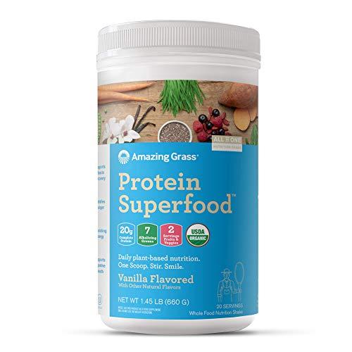 Amazing Grass Protein Superfood: Organic Vegan Protein Powder review