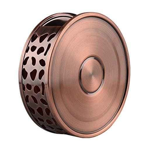 EEYZD Calentador de Tetera de 1 Pieza, Calentadores de té de café de Acero Inoxidable para Tetera de Vidrio y Otros usos para Calentar Platos a Prueba de Calor.
