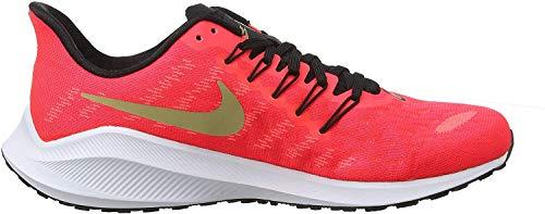 Nike Air Zoom Vomero 14, Scarpe da Running Uomo, Rosso (Red Orbit/White/Black/Parachute Beige 620), 43 EU