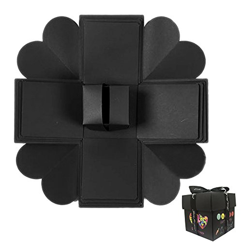 Eliteguard Creative Explosion Gift Box, Surprised Blast Gifts Boxes Handmade Photo Album Explosion Creative Gift Box for Birthday & Valentine's Day (Box)