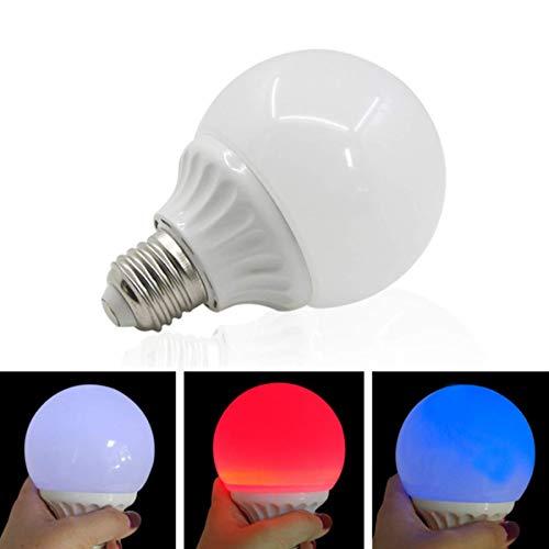 WSNMING 1 Pcs New Multicolor Magic Light Bulb Lamp Magic Tricks Props
