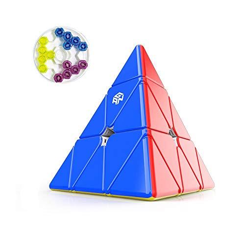 GAN Pyraminx Explorer, 36 Imanes Speed Magnético Pirámide Puzzle Triángulo Rompecabezas con GES Extra