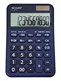 Sharp EL-M335 10-Digit Extra Large Desktop Calculator with Currency Conversion Functions, Tax, Percent and Backspace Keys, and a Large Angled LCD Display, Perfect for Home or Office Use
