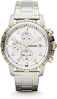 Fossil Men's Dean Stainless Steel Chronograph Dress Quartz Watch