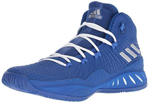adidas Crazy Explosive 2017 Shoe Men's Basketball 4 Collegiate Royal-Silver Metallic-Blue