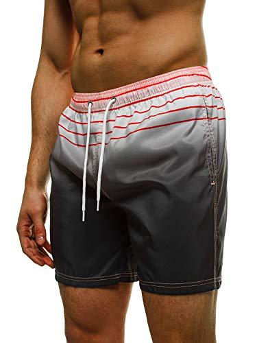 OZONEE zwembroek voor heren, kort, polyester, lichtgewicht zwembroek