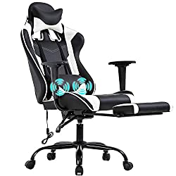 Ergonomic Desk Gaming Chair - Most Comfortable Backrest Gaming Chair