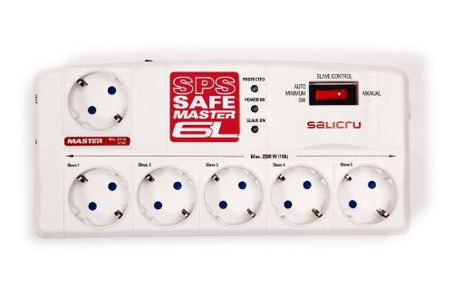Salicru SPS.Safe Master 6L 6salidas AC 230V Color Blanco - Regleta (918 J, 6 Salidas AC, Tipo F, 50/60, 2300 W, 36000 A)