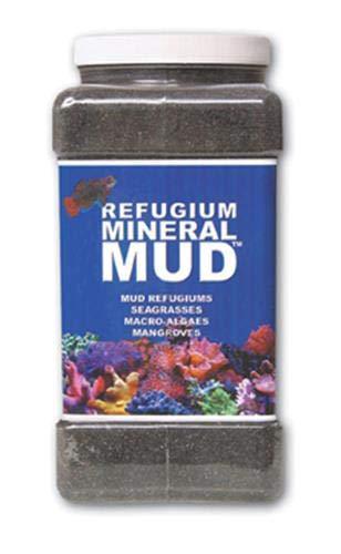Carib Sea ACS00526 Mineral Mud Filter Media for Aquarium, 1-Gallon