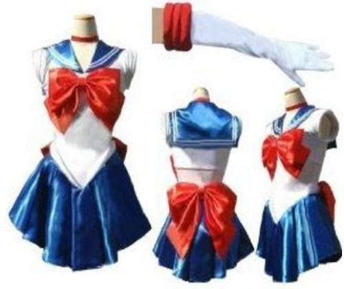 『セーラームーン 風 セーラー戦士 衣装5セット コスチューム レディース Mサイズ』の2枚目の画像