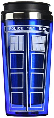Bif Bang Pow!'Doctor Who TARDIS' Travel Mug, 16 oz, Blue