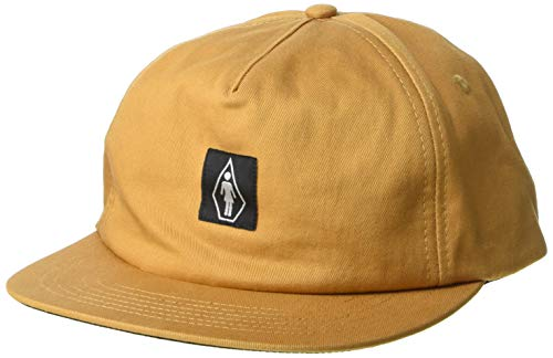 Volcom Herren X Girl Skateboards Hat Baseball Cap, Sandbraun, Einheitsgröße