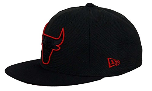 New Era Herren Caps / Fitted Cap Diamond Era Prene Chicago Bulls schwarz 7 1/8 - 56,8cm