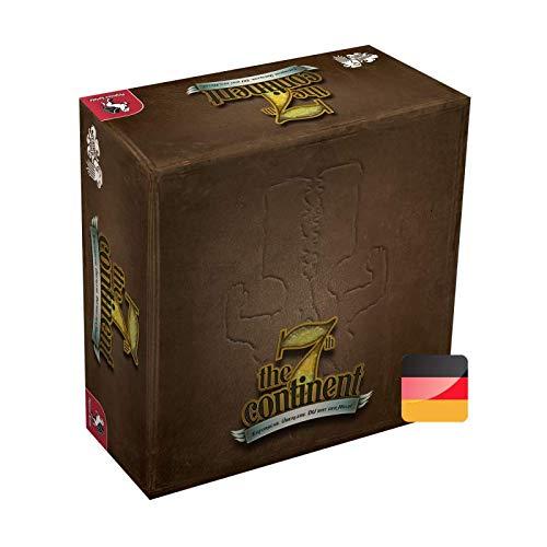 The 7th Continent Classic Edition - Grundspiel – Deutsche Version – Brettspiel – Kooperativ – 1 bis 4 Personen – Abenteuer – Erkundung – Überleben