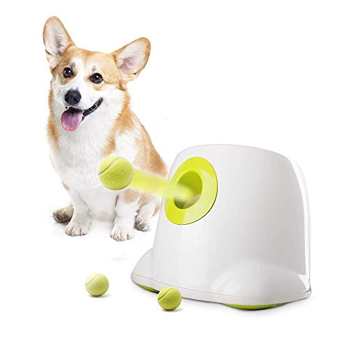 AFP Automatic Ball Launcher Dog Ball Thrower Machine Hyper Fetch Tennis Ball (Maxi) (Maxi-New)