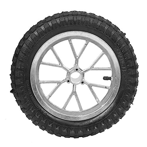 Neumático de Motocicleta, neumático Delantero Trasero, llanta de Rueda de Motocicleta para Mini Bicicleta de Tierra para reemplazo