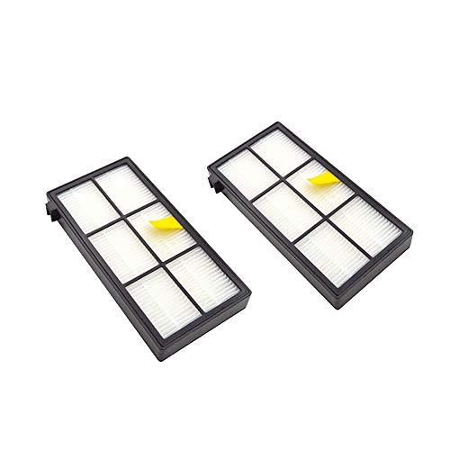 Exusheng (2 peças de reposição para filtro Hepa a vácuo iRobot Roomba 800 e 900 Series 980 890 860 880 870
