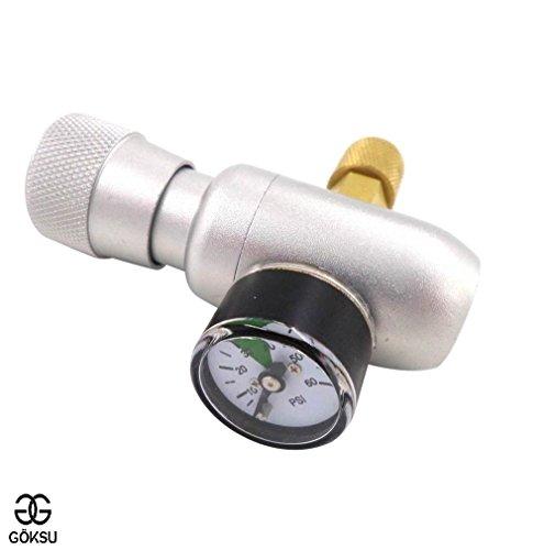 Craft Dispenser Regulator Kit Home Brewing Mini Keg Charger Growlers 0-60psi Heavy Duty