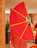 SAUNAGUT® Aufgussfächer PLUS (Rot-Orange)
