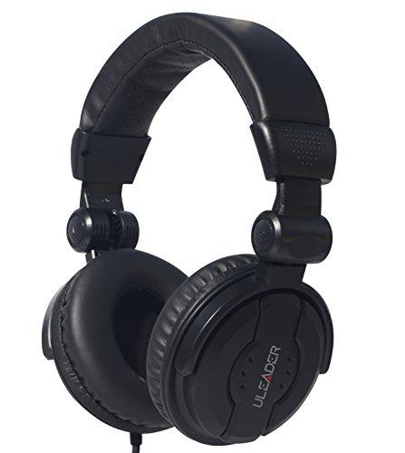 Review Of Uleader DJ9400 High-Definition DJ Headphones (DJ9400 Black)