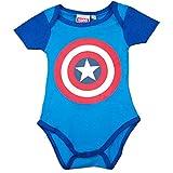 Escudo Capitán America - Body para Bebe - The Avengers (3-6)
