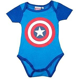 Escudo Capitán America - Body para Bebe - The Avengers (0-3)