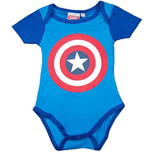 Escudo Capitán America - Body para Bebe - The Avengers (12-18)