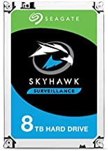 Seagate SkyHawk 8TB Surveillance Internal Hard Drive HDD – 3.5 Inch SATA 6Gb/s 256MB Cache for DVR NVR Security Camera System with Drive Health Management (ST8000VX0022)