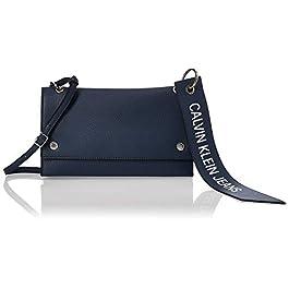 Calvin Klein Ckj Banner Shoulder Flap Bag, Sacs bandoulière