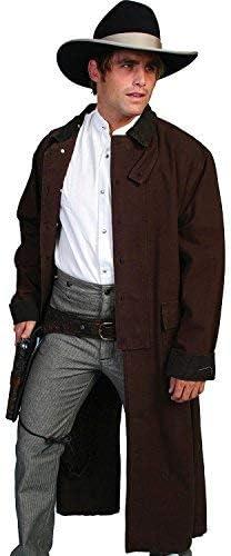Rangewear By Scully Men's Long Canvas Duster