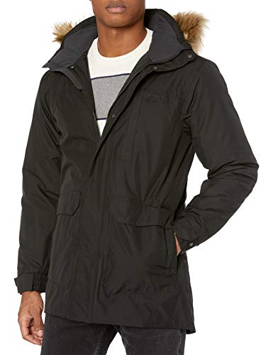 Helly Hansen Men's Dubliner Parka 100 Gram Primaloft Insulated Waterproof Windproof Breathable Rain Coat with Hood, 990 Black, Small